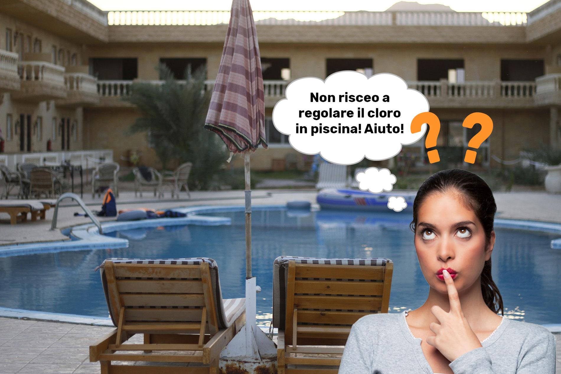 Valore di cloro o pH sbagliati in piscina? Ecco come risolverli!