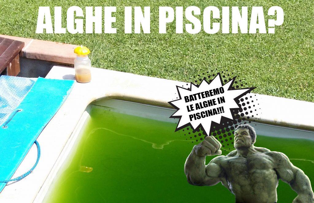Acqua verde in piscina cosa fare?