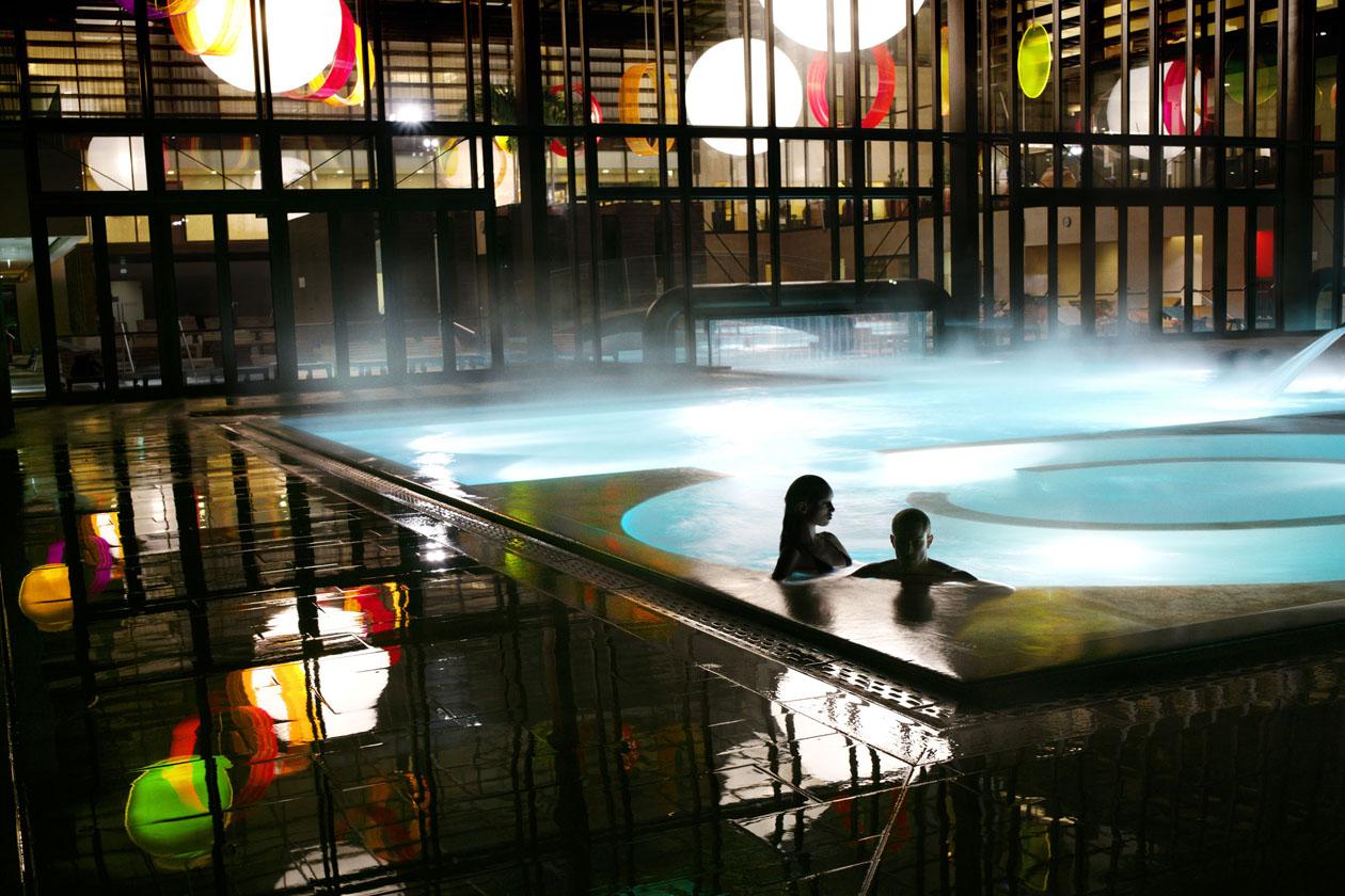 Evaporazione dell'acqua in piscina