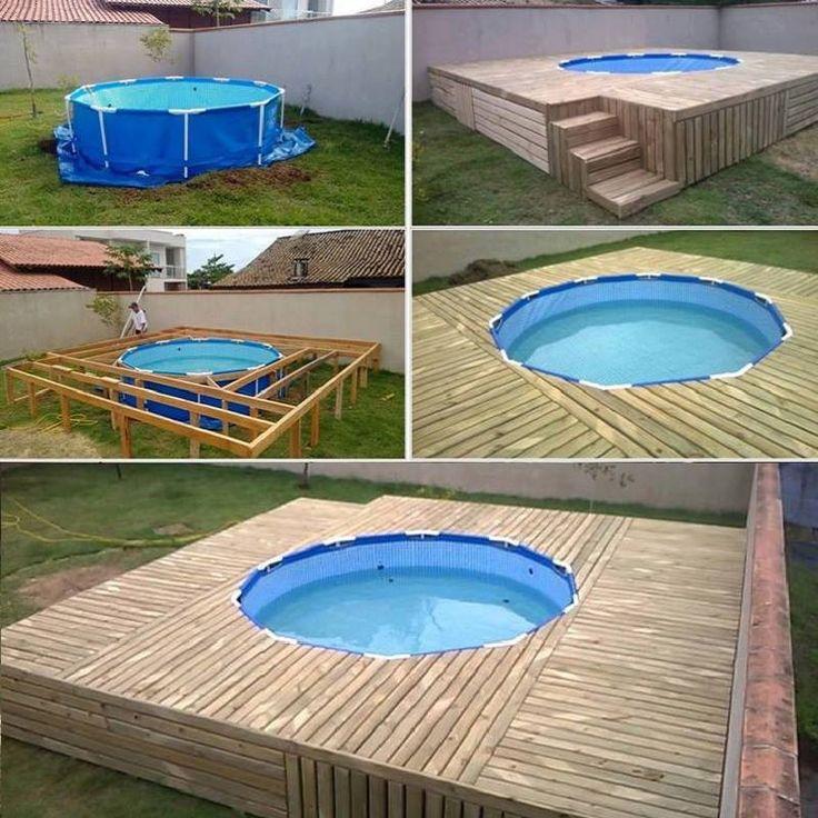 Piscine da giardino fuori terra pro contro acquavivastore blog wiki - Piscine fuori terra rivestite ...