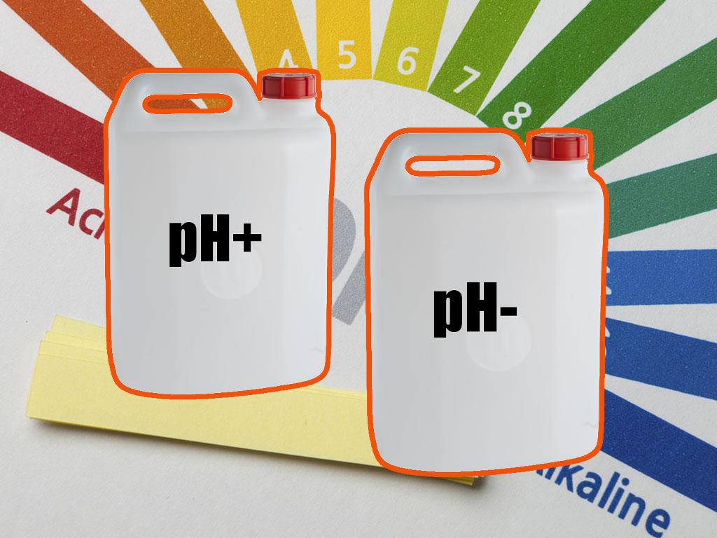 Valore del pH in piscina