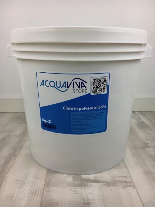 Cloro liquido in piscina