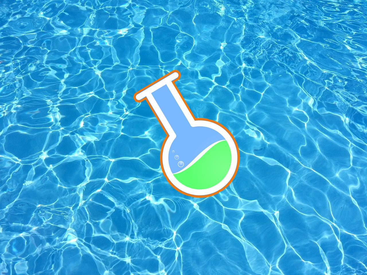 trattare l'acqua della piscina