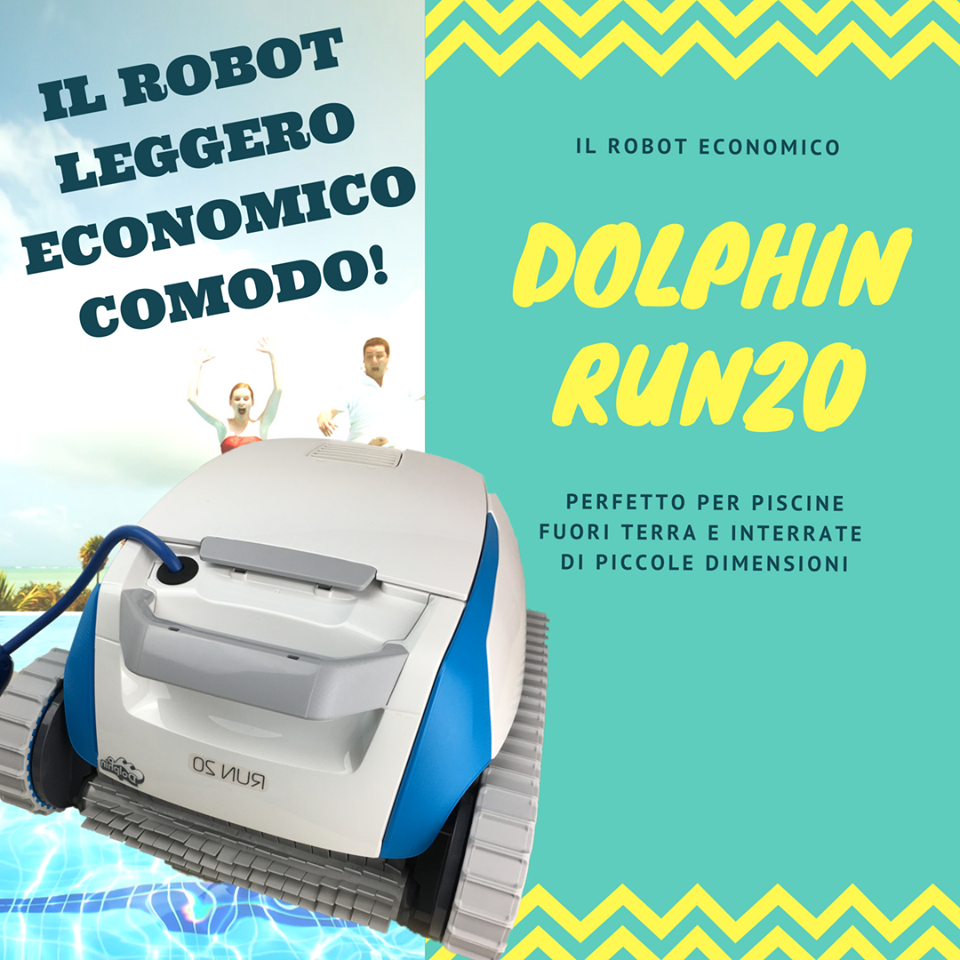 run 20 robot dolphin
