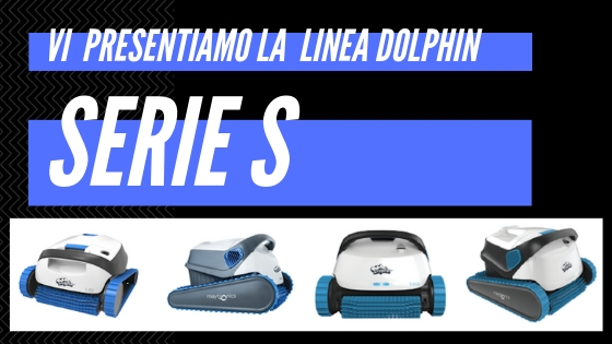 I robot da piscina Dolphin S100, S200, S300, S300i