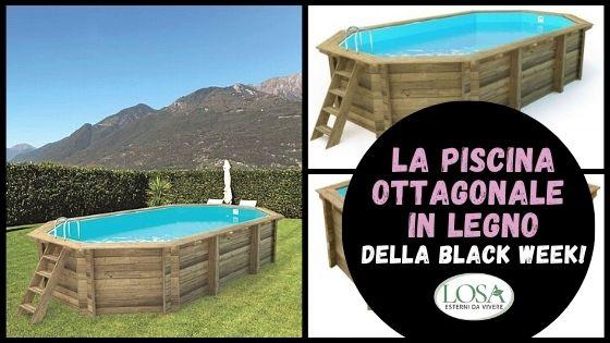 piscina legno losa