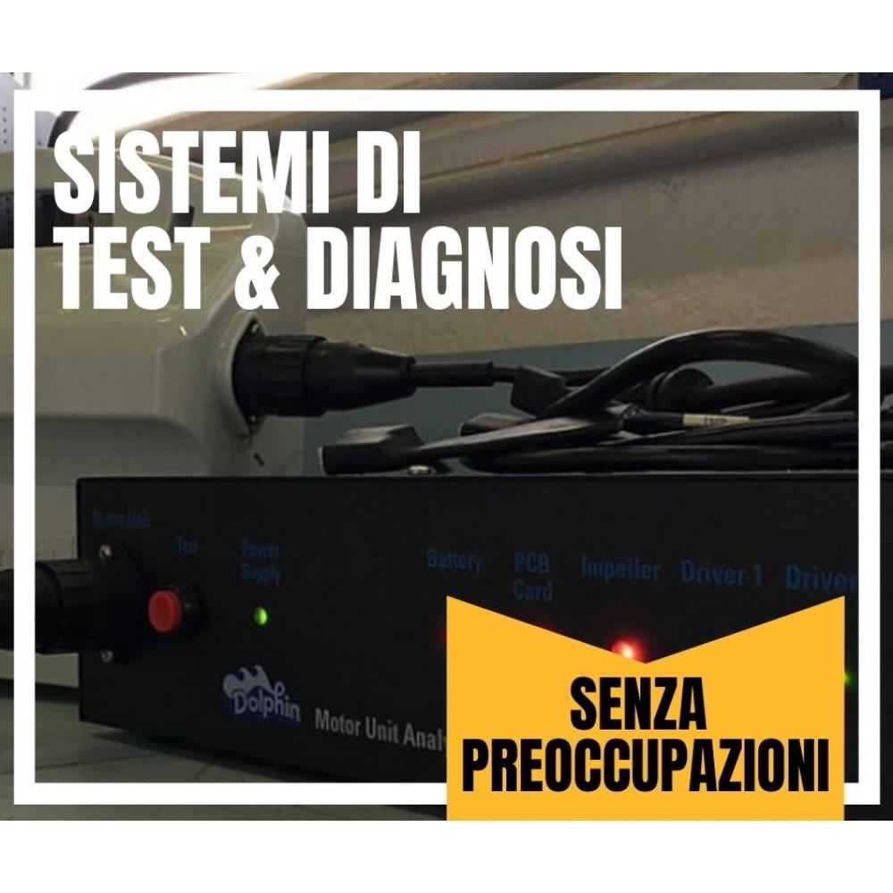 sistema di test e diagnostica