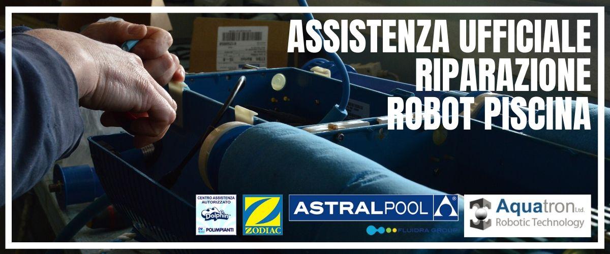 Assistenza autorizzato robot piscina