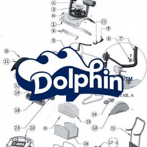 Ricambi robot Dolphin