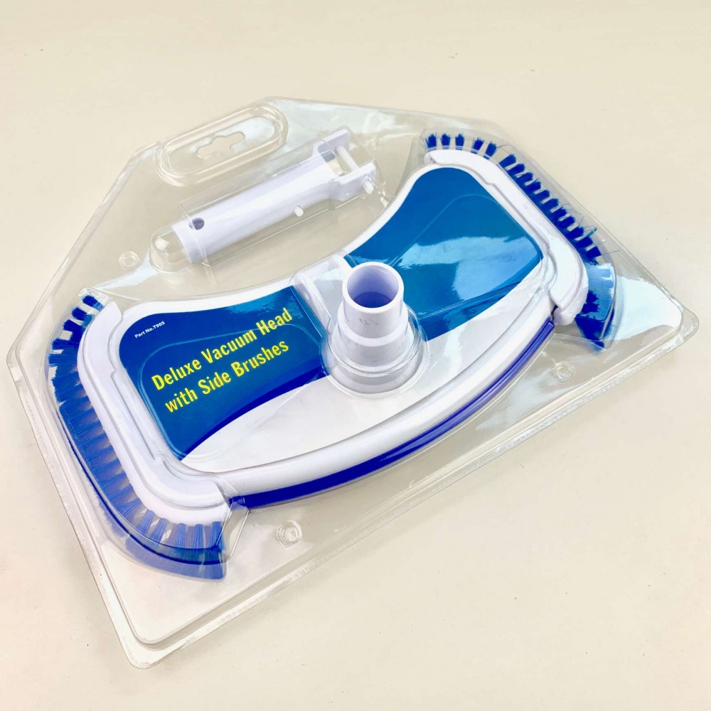 Aspirafango piscina con spazzole laterali