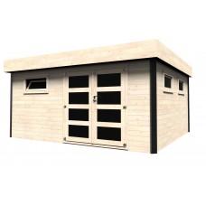 Casetta in legno Evelin 468 cm x 426 cm - h 231cm