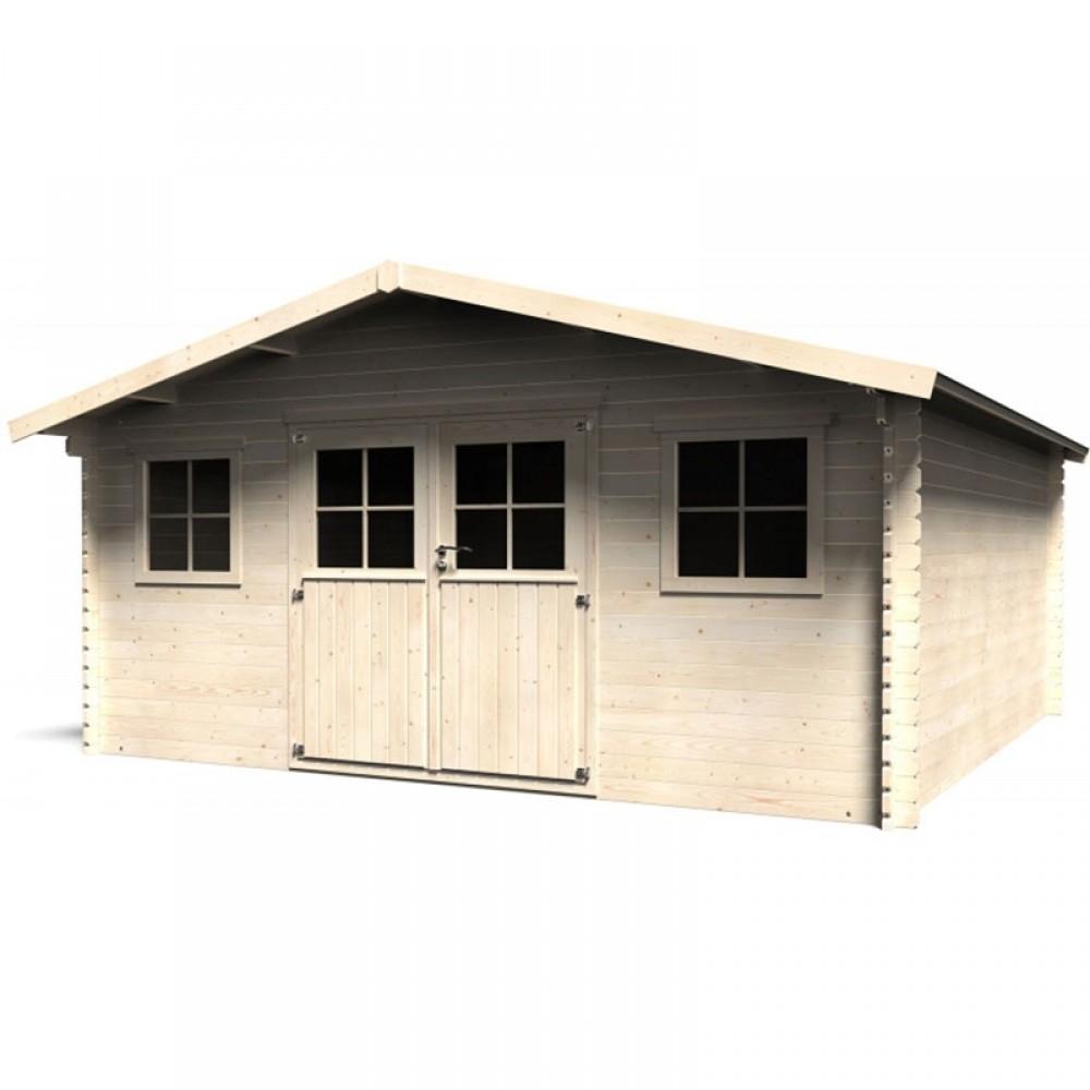 Casetta in legno Avelin 509 cm x 495 cm - h 267 cm