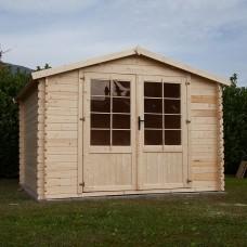 Casetta in legno Mary 300 cm x 300 cm - h 235 cm