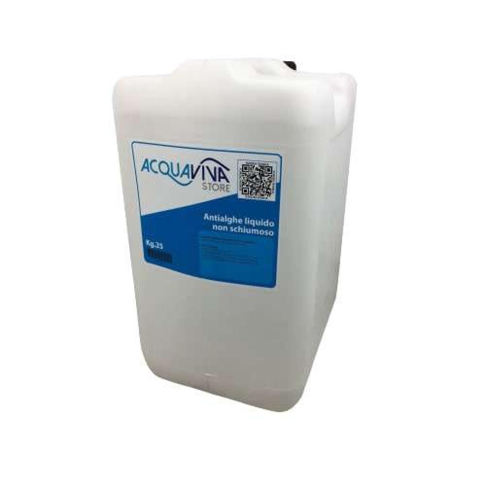 Antialghe per piscine o fontane non schiumoso confezione da 25 L