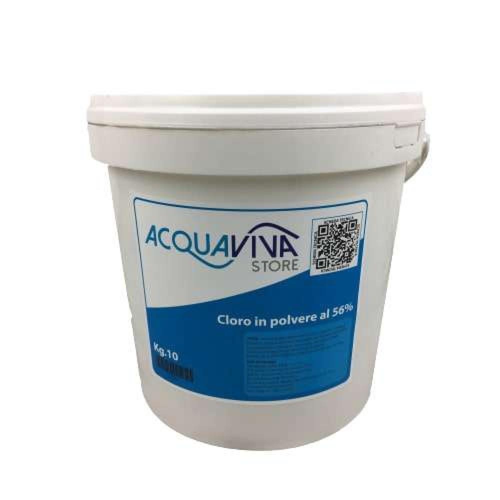 Cloro in polvere granulare confezione da 10Kg