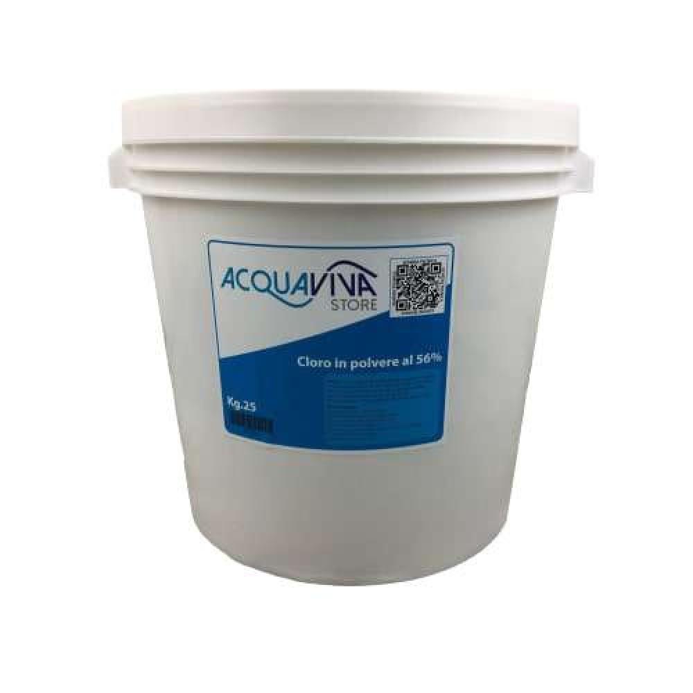 Cloro in polvere granulare confezione da 25Kg