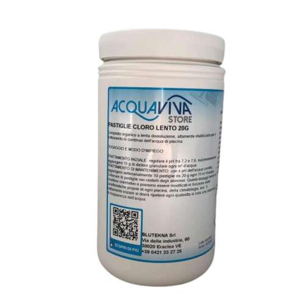 Cloro in pastiglie da 20g confezione da 1 Kg