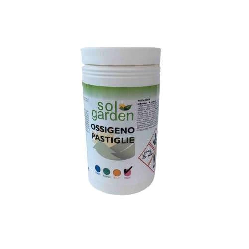 Ossigeno per piscina pastiglie 100g confezione da 1Kg