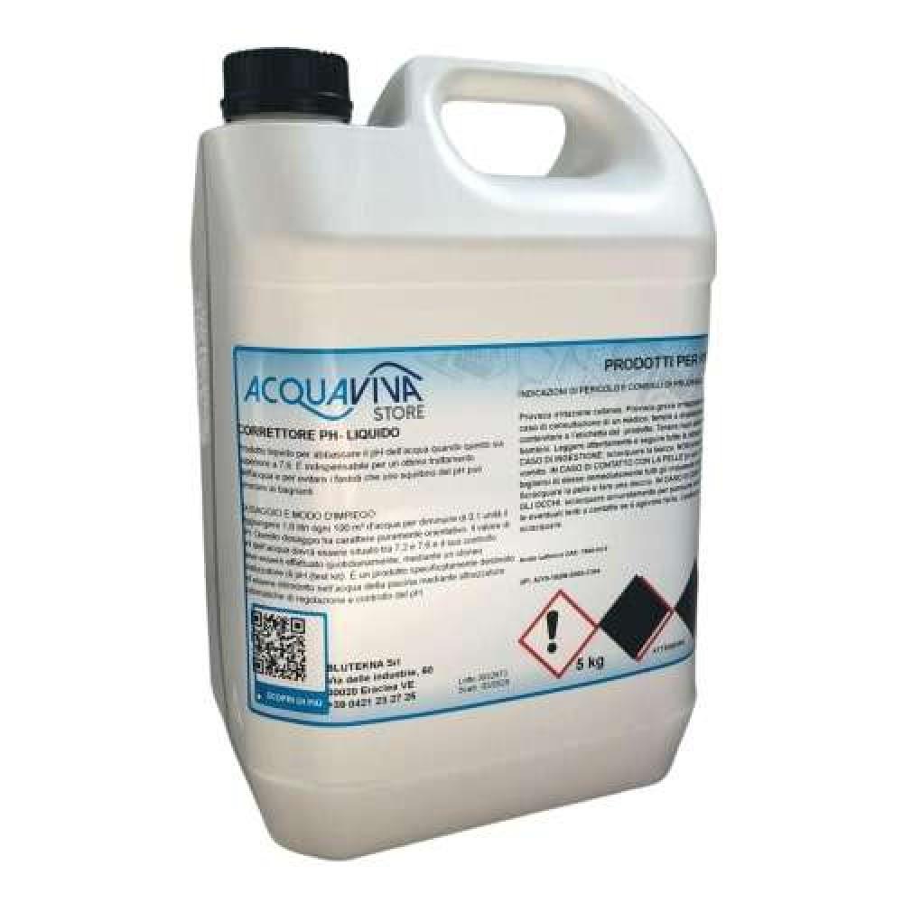 Regolatore di pH meno liquido 5L