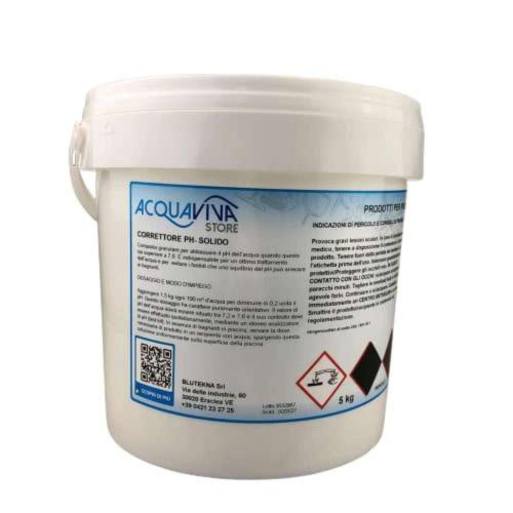 pH meno granulare confezione da 5Kg