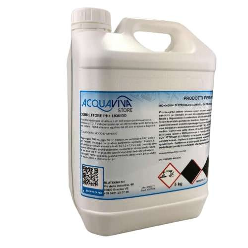 Regolatore di pH più liquido 5L