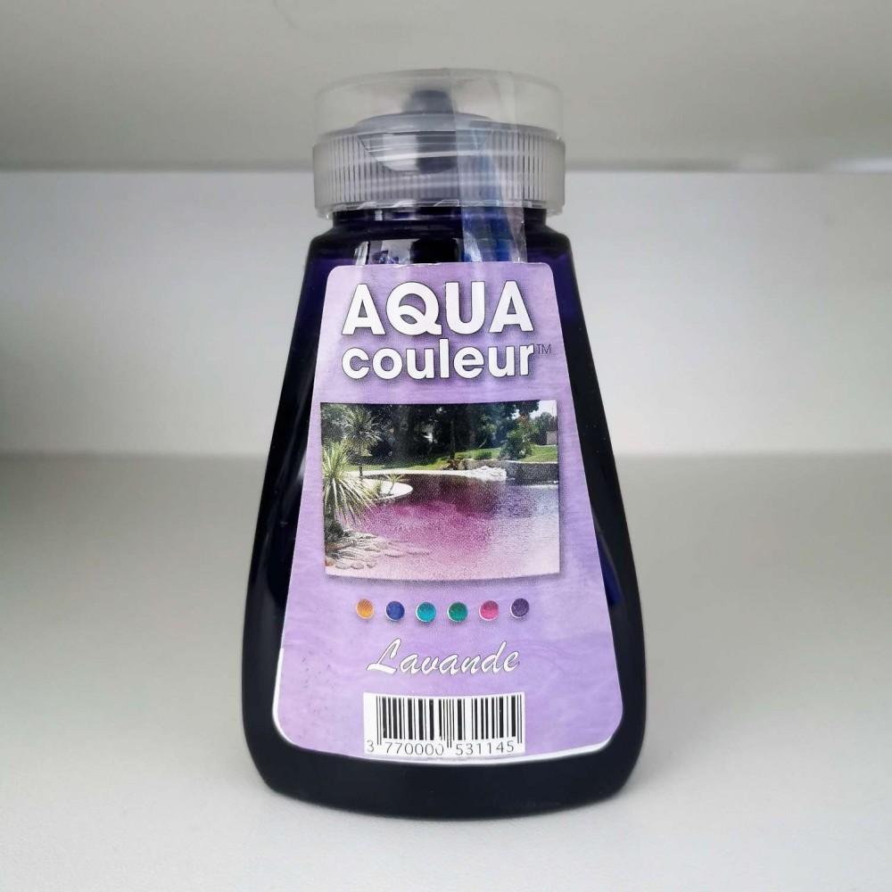 Colorazione per piscina lavanda
