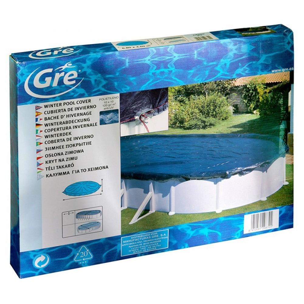 Copertura invernale piscine Gre 610 cm - 410 cm