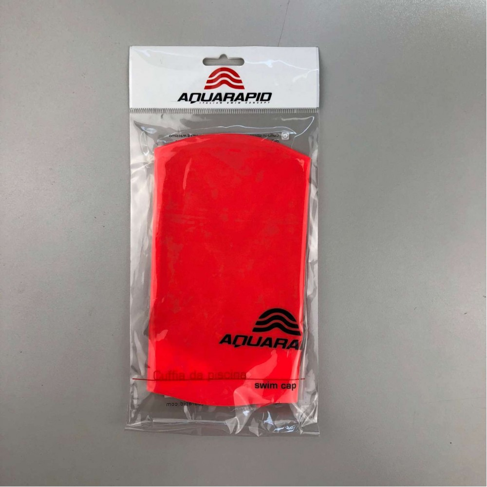 Cuffia in silicone rossa