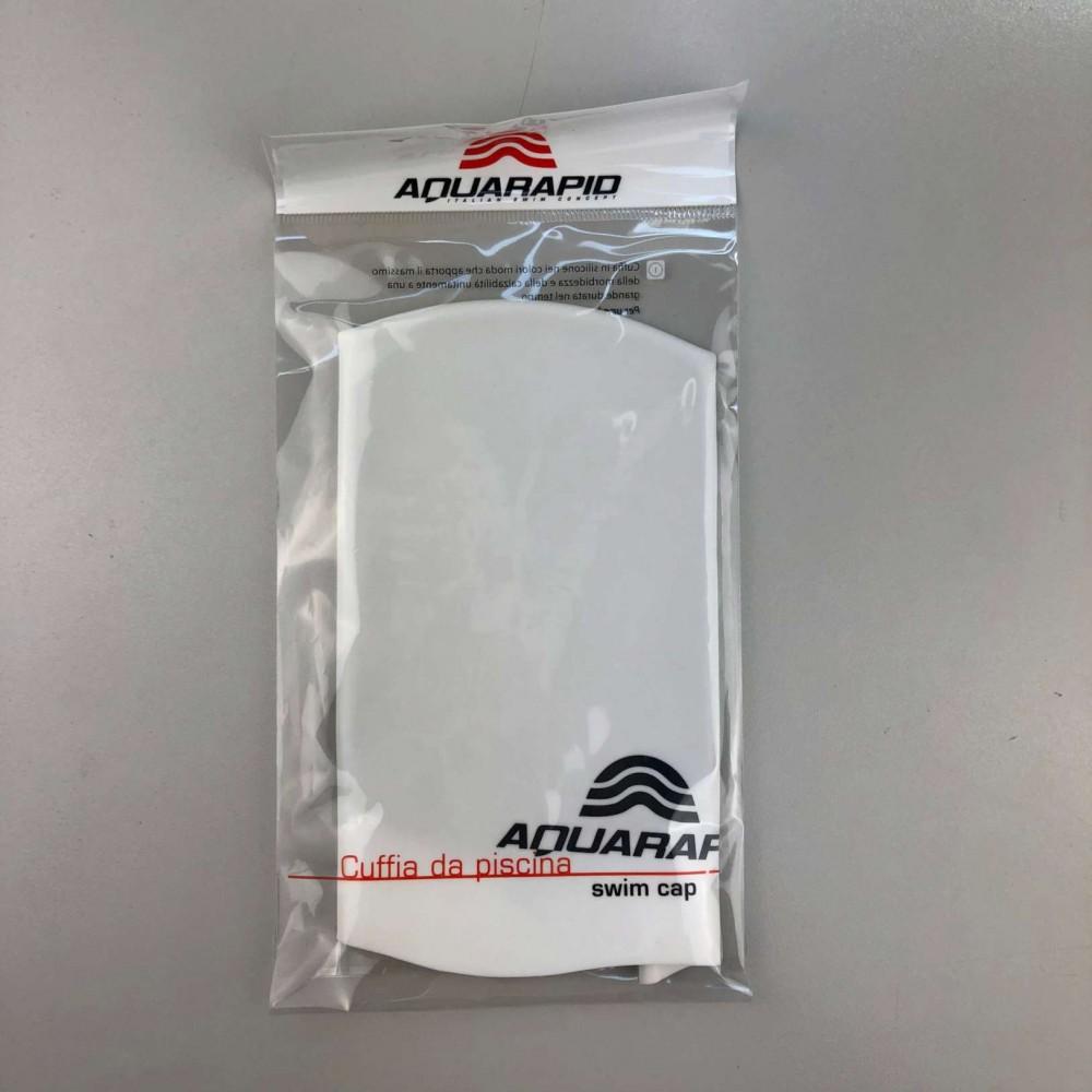 Cuffia in silicone bianca