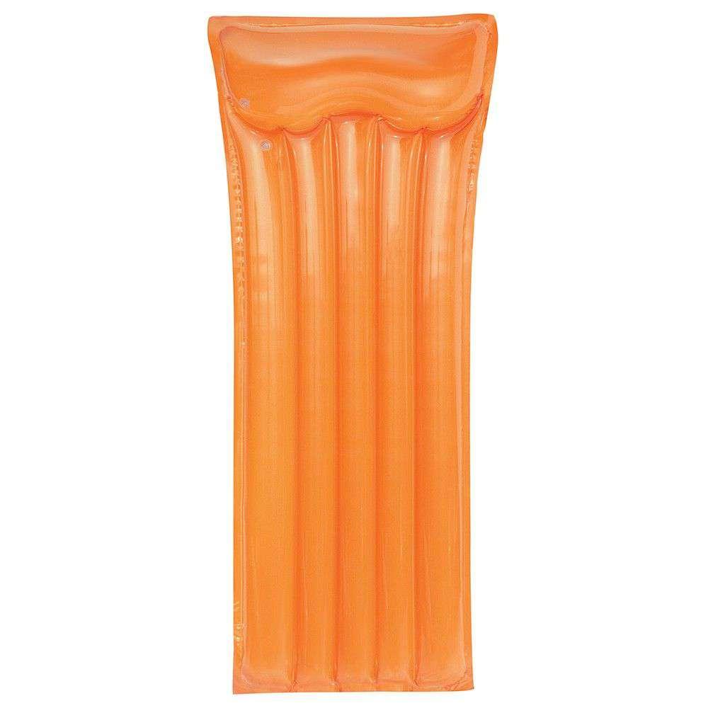 Materassino gonfiabile deluxe arancione
