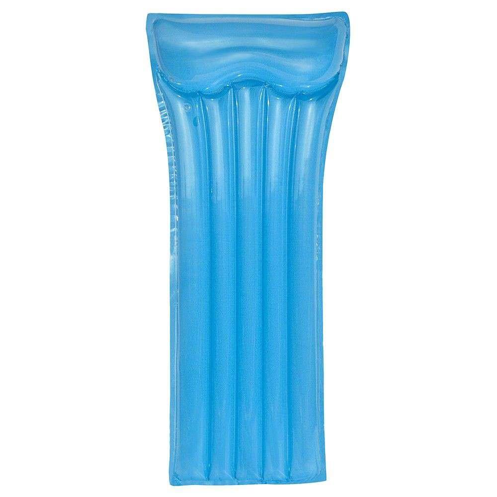 Materassino gonfiabile deluxe blu