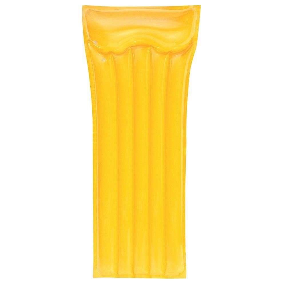 Materassino gonfiabile deluxe giallo