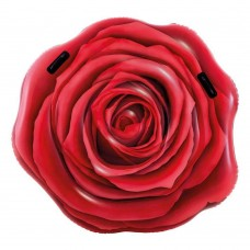 Materassino rosa rossa