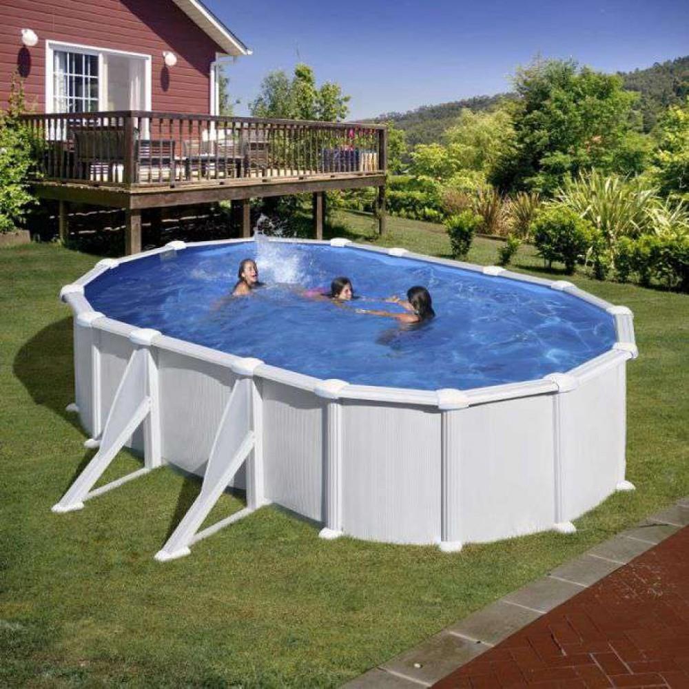 Atlantis piscina fuori terra Gre 500 cm - 300 cm - h 132 cm