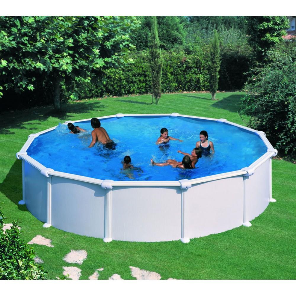 Atlantis piscina fuori terra Gre Ø 460 cm - h 132 cm