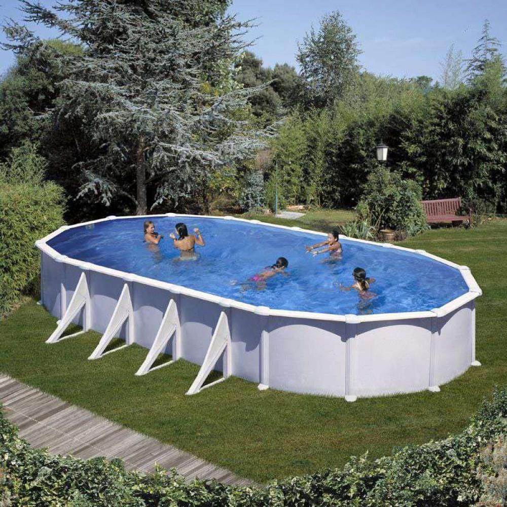 Atlantis piscina fuori terra Gre 1000 cm - 550 cm - h 132 cm