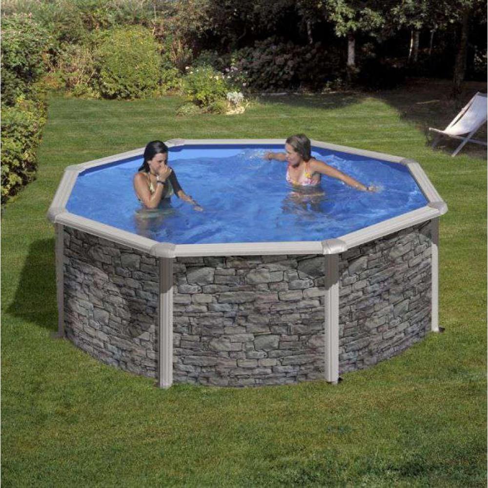 Cerdena piscina fuori terra Gre Ø 350 cm - h 120 cm