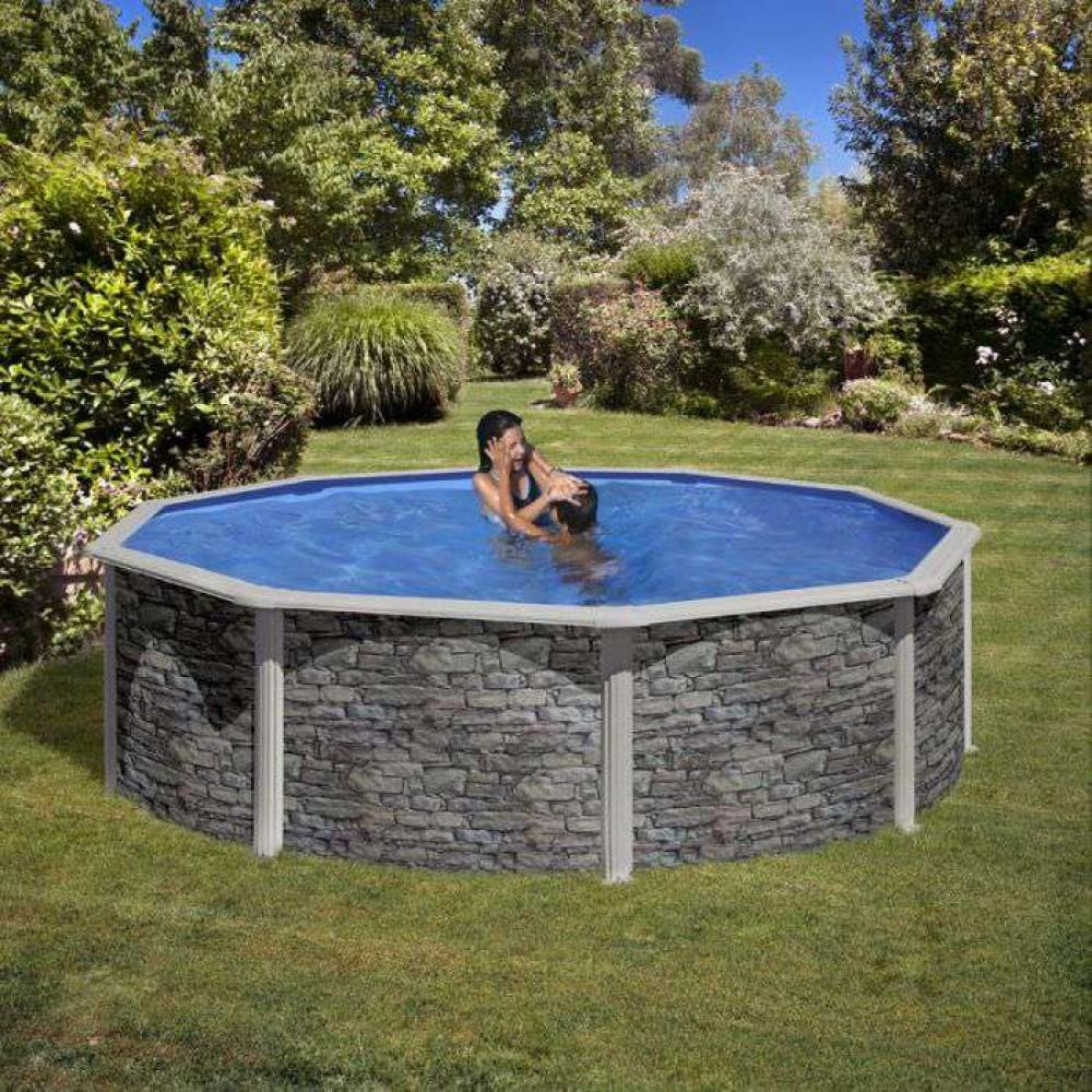 Cerdena piscina fuori terra Gre Ø 460 cm - h 120 cm
