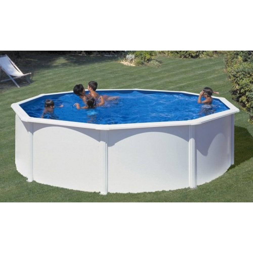 Fidji piscina fuori terra Gre Ø 240 cm - h 120 cm