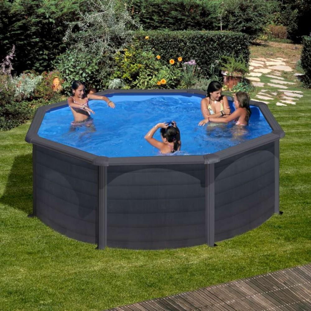 Granada piscina fuori terra Gre Ø 350 cm - h 132 cm