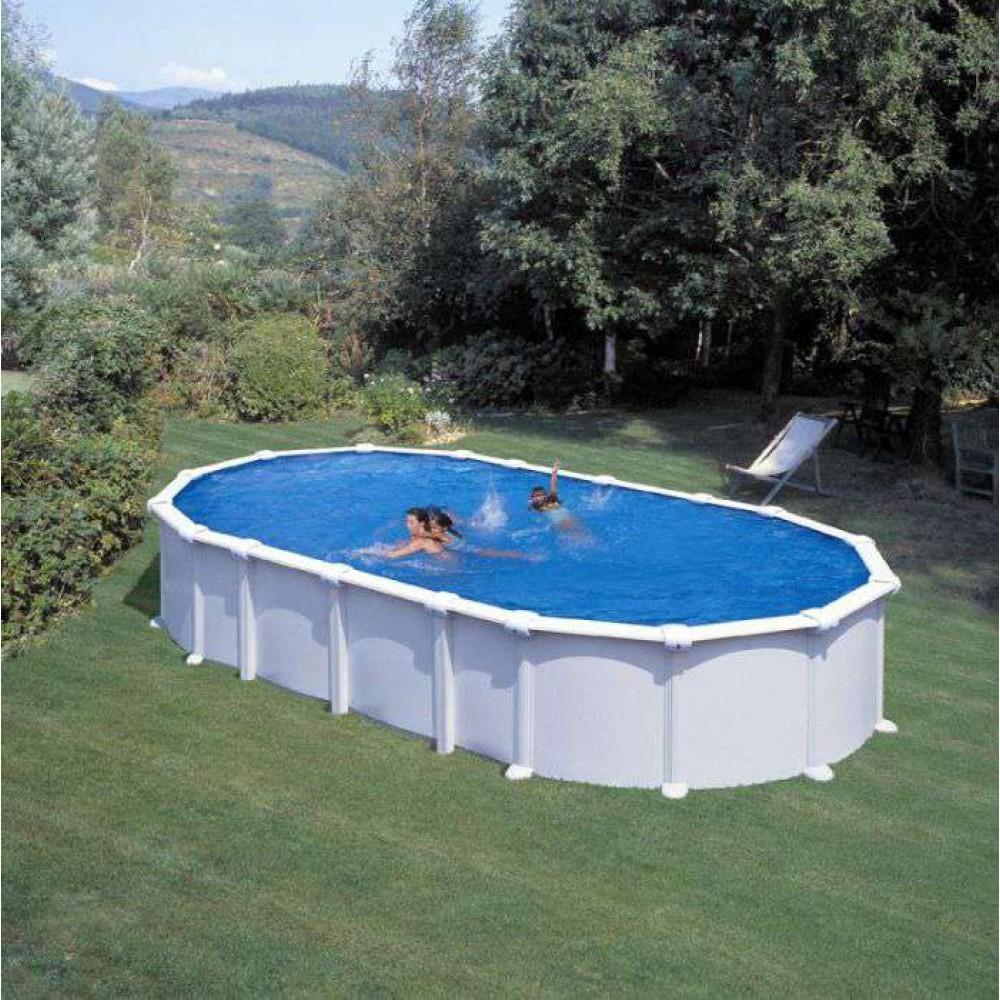 Haiti piscina fuori terra Gre 730 cm - 375 cm - h 132 cm