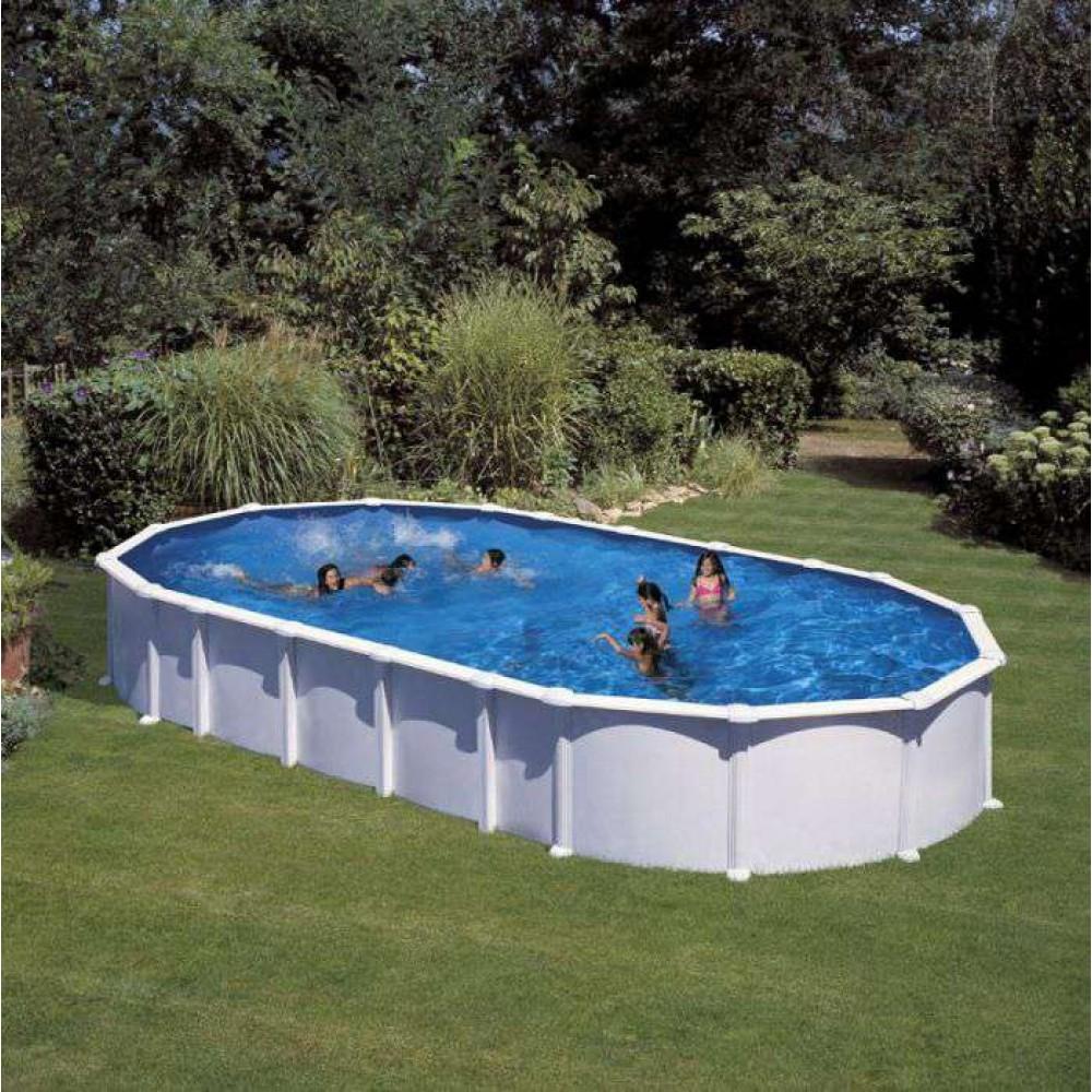 Haiti piscina fuori terra Gre 915 cm - 470 cm - h 132 cm