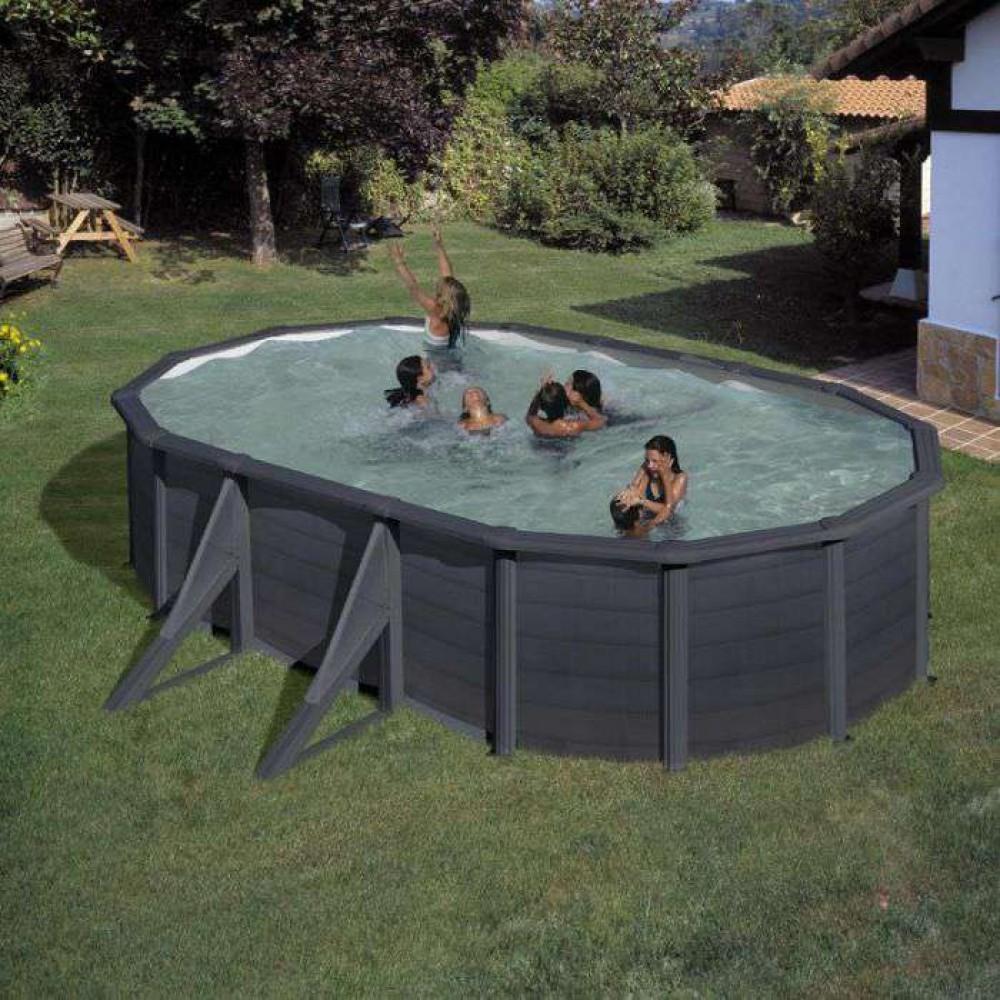 Kea piscina fuori terra Gre 500 cm - 300 cm - h 120 cm