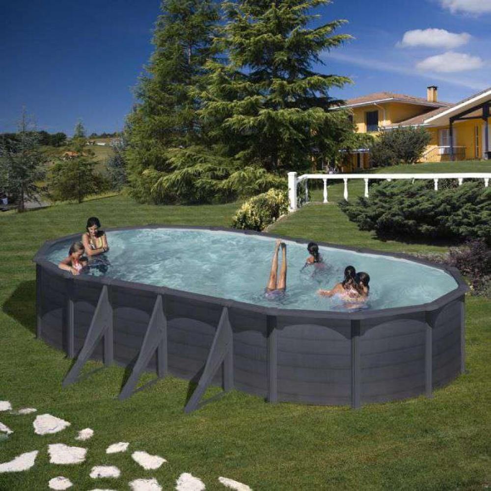 Kea piscina fuori terra Gre 730 cm - 375 cm - h 120 cm