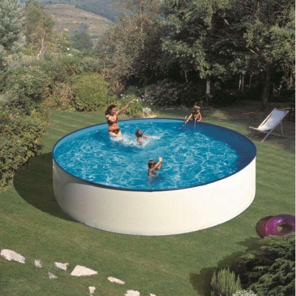 Lanzarote piscina fuori terra Gre Ø 300 cm - h 90 cm