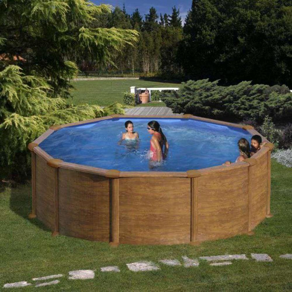 Mauritius piscina fuori terra Gre Ø 350 cm - h 132 cm