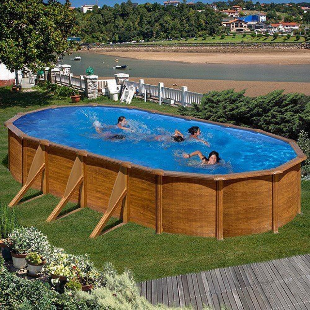 Pacific piscina fuori terra Gre 730 cm - 375 cm - h 120 cm
