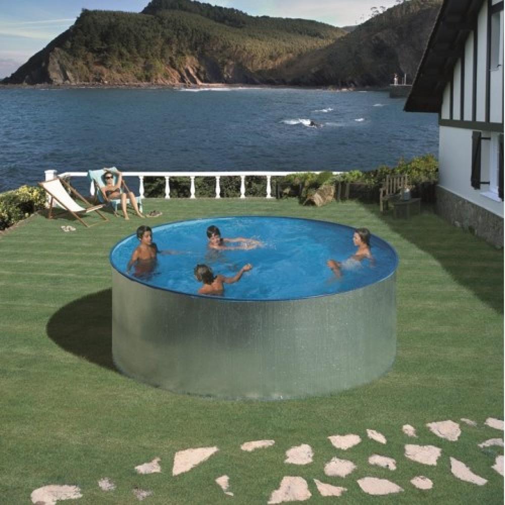 Tenerife piscina fuori terra Gre Ø 350 cm - h 90 cm