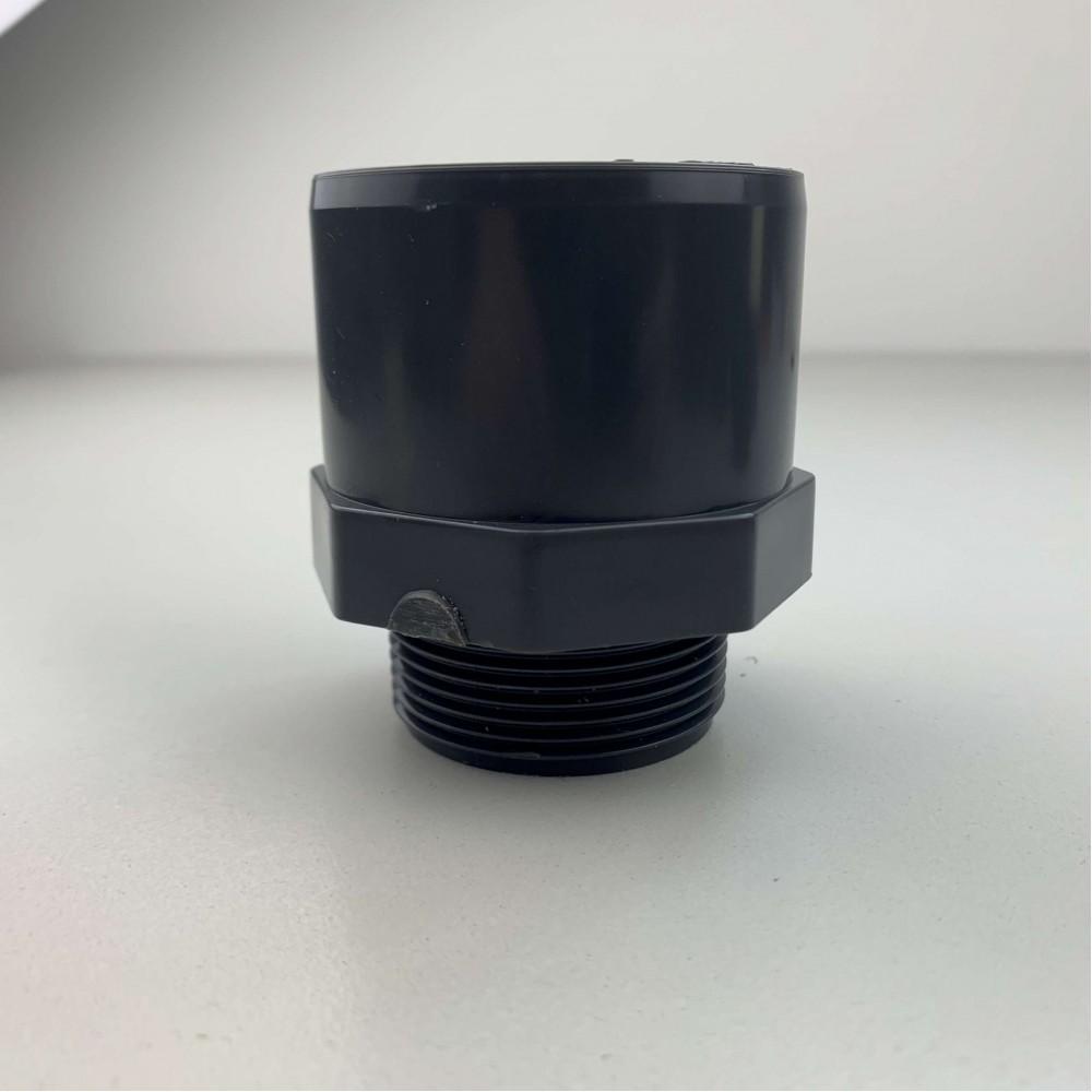 """Raccordo Adaptor in Pvc 20 mm o 25 mm 3/8"""" Incollaggio / Filetto M/F"""