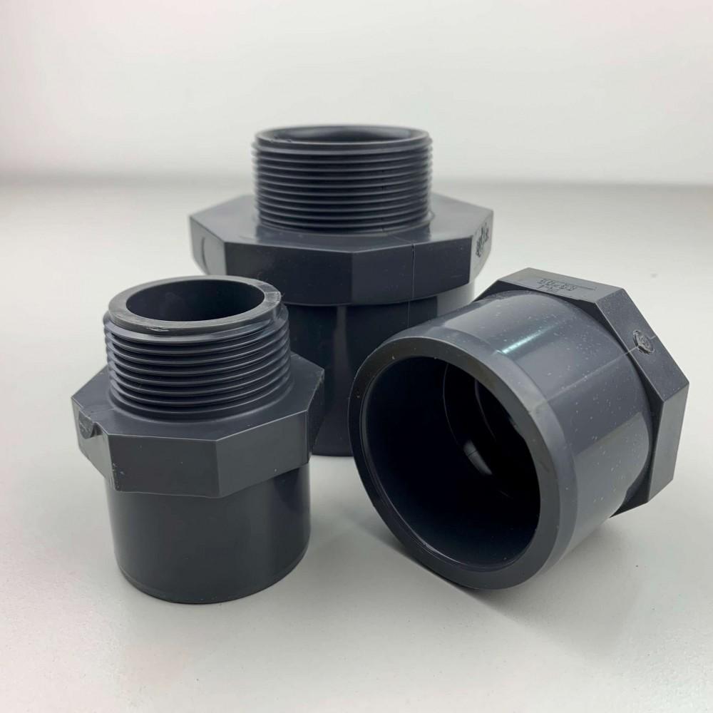Raccordi Adapter idraulici in pvc per raccorderia piscina